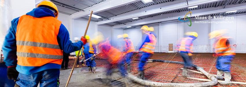 Maas und Kollegen · Anwalt · Arbeitsrecht · Mindestlohn entstandte Arbeitskräfte